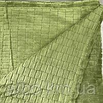 Покрывало плед Микрофибра ALBO 200х230 cm Зеленое (P-F3-22-2), фото 8