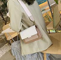 Жіноча сумка через плече Legend з двома ремінцями, фото 5
