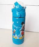 Термос с Трубочкой Поилкой 350ml Детский (ВидеоОбзор), фото 5