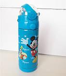 Термос с Трубочкой Поилкой 350ml Детский (ВидеоОбзор), фото 8