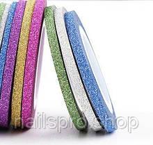 Лента для ногтей 3мм сахарная