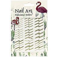 Наклейки для дизайна ногтей Nail Art Professional Stickers DP 311