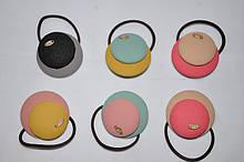 Резинка для волос - медальки (от 3 шт)