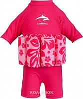 Купальник–поплавок Konfidence Floatsuit 4-5 лет Купальник Floatsuit 4-5 лет Hibiscus/Pink, фото 1