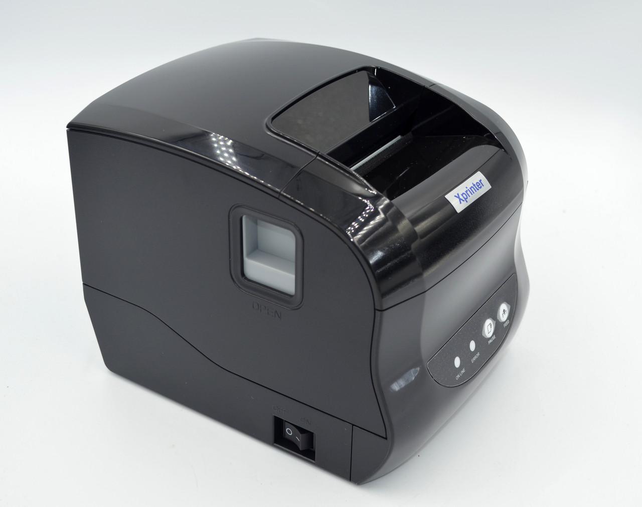 Принтер этикеток Xprinter XP-365B Black (XP-365B)