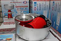 Сепаратор электрический бытовой для молока Мотор Сич 100 л/час корпус металлический