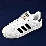 Кроссовки Adidas Superstar Белые Адидас Суперстар (размеры: 41,42,43,45) Видео Обзор, фото 5
