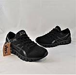 Кроссовки Asics GEL Чёрные Мужские Асикс Гель (размеры: 41,42,43,44,45,46) Видео Обзор, фото 8