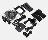 Экшн Камера HD Видеокамера с Аксессуарами и Боксом в Комплекте, фото 3
