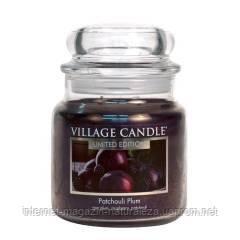 Арома свеча Village Candle Пачули слива (время горения до 105 ч), фото 2