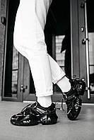 Женские кроссовки Jimmy Choo Black \ Джимми Чу Черные \ Жіночі кросівки Джиммі Чу Чорні
