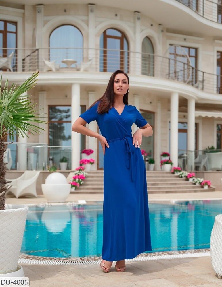 Стильное платье  (размеры 48-62) 0249-18