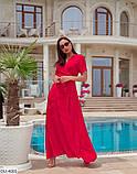 Стильное платье  (размеры 48-62) 0249-18, фото 2