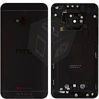 Задняя крышка батареи для HTC One M7 801n, оригинал (черный)