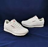 Мужские Кроссовки Reebok Classic Белые Рибок Кожа (размеры: 44,45,46) Видео Обзор, фото 9
