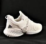 Кроссовки Adidas Alphabounce Белые Адидас Женские (размеры: 36,38,39,40) Видео Обзор, фото 4