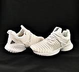 Кроссовки Adidas Alphabounce Белые Адидас Женские (размеры: 36,38,39,40) Видео Обзор, фото 7