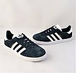 Кроссовки Adidas Gazelle Синие Мужские Адидас (размеры: 42) Видео Обзор, фото 7