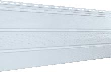 Софит U-plast с центральной перфорацией белый (подшивка крыши)