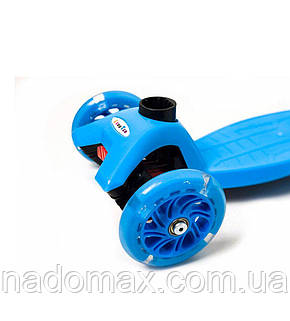 Самокат детский Scooter Maxi Original светящиеся колеса, фото 2