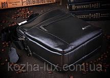 Мужская сумка, натуральная кожа, фото 3