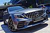 Решетка радиатора Mercedes W205 (2018+) стиль AMG GT, фото 2