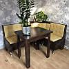 Кухонный уголок Маршал с раскладным столом и табуретами, фото 3