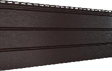 Софит U-plast сплошной коричневый (подшивка крыши)