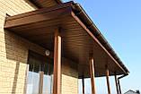 Софіт U-plast суцільний коричневий (підшивка даху), фото 6