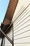Софіт U-plast суцільний коричневий (підшивка даху), фото 7