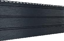 Софит U-plast сплошной графитовый (подшивка крыши)