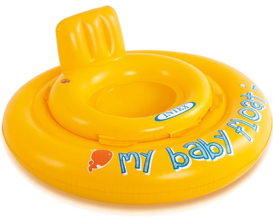 """Надувные водные ходунки 70 см """"My baby float"""", от 6 до 12 месяцев, до 11 кг   Надувной круг-ходунки для детей"""