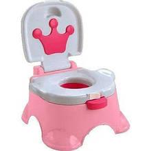 """Музичний горщик """"Королівський"""" для дівчаток, рожевий"""