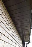 Софит U-plast с центральной перфорацией коричневый  (подшивка крыши), фото 5