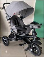 Crosser T 350 ECO AIR NEW детский трехколесный темно-серый велосипед, фото 1