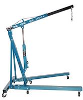 Кран гидравлический, 2т складной, (высота подъема 2200мм, длина стрелы:1000-1570мм) F-32002X К:9850