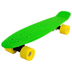 Скейти Пенні борди Penny Board 22 дюйма матові колеса