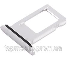 Держатель Sim-карты для iPhone XR, белый, на одну Sim-карту