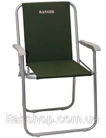 Кресло складное Ranger FC-040 Rock (Зеленое)