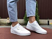 Женские кроссовки Puma Cali (белые) 9529