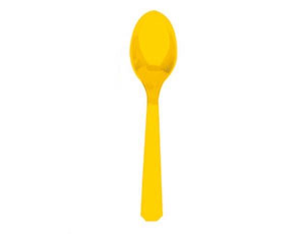 Набор ложек желтая 10 шт Галетте - 04341