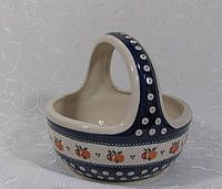 Корзина керамическая ручной работы 1303
