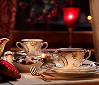 Набор десертных тарелок 19см Rococo 0040