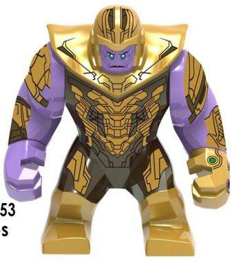 Танос Суперзлодей Марвел Мстители Аналог лего 7-9 см