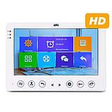 "Цветной видеодомофон Atis AD-720HD White 7"" Белый, фото 3"