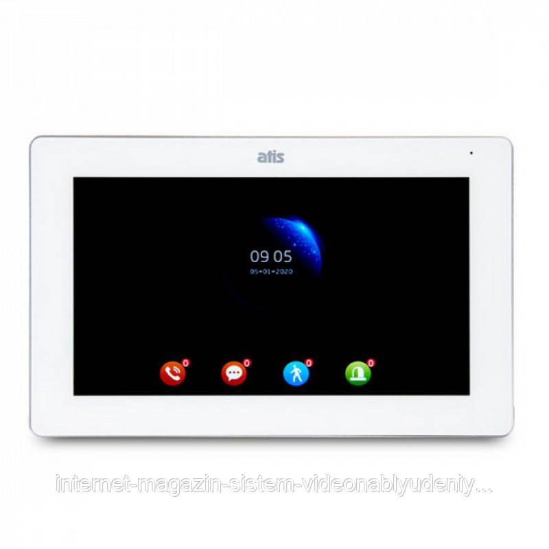"""Видеодомофон ATIS AD-770FHD 7"""" IPS Белый"""