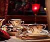 Набор суповых тарелок 22.5см Rococo 0040