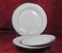 Набор суповых тарелок 23см Yvonne E606