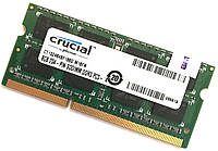 Оперативная память для ноутбука Crucial SODIMM DDR3 8Gb 1866MHz 14900s 2R8 CL11 (CT102464BF186D.M16FN) Б/У, фото 1