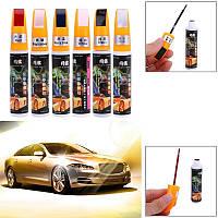 Корректор с краской для закрашивания царапин на авто (перламутровый черный)